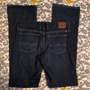 Lucky Jeans Dark Wash Sweet Jean Boot EUC Size 27L
